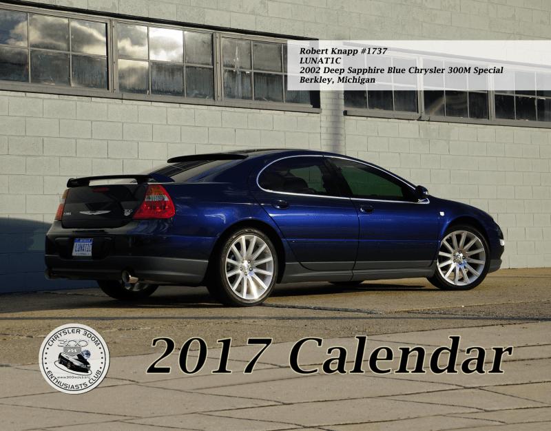 2017 Club Calendar